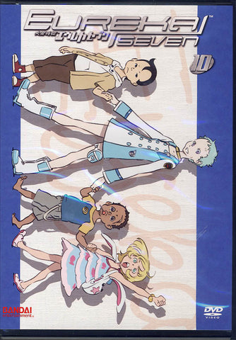 Eureka Seven - Volume Ten (10) (ep.39-42) DVD Movie
