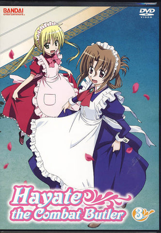 Hayate - The Combat Butler - Part 3 DVD Movie