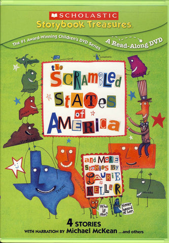 Scrambled States of America & More Stories By Laurie Keller DVD Movie