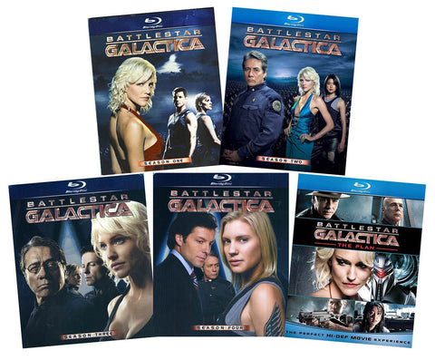 Battlestar Galactica Complete Series + The Plan (Blu-ray) (Boxset) BLU-RAY Movie