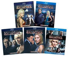 Battlestar Galactica Complete Series + The Plan (Blu-ray) (Boxset)
