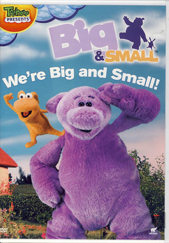 Big and Small - We're Big and Small! DVD Movie