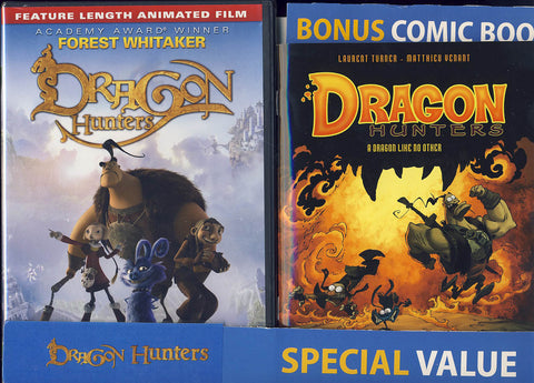 Dragon Hunters (with Bonus Comic Book) DVD Movie