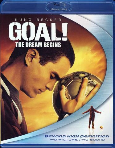 Goal! The Dream Begins (Blu-ray) BLU-RAY Movie