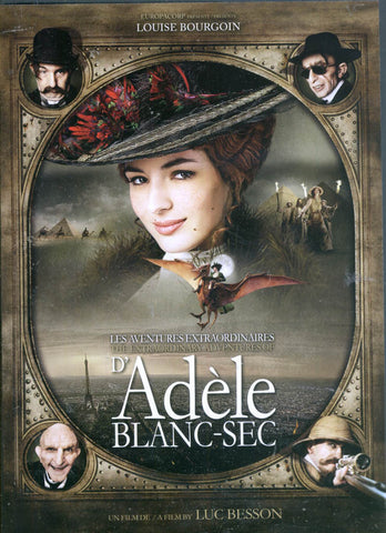 Aventures Extraordinaires D Adele(Bilingual) DVD Movie