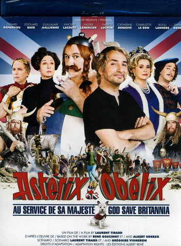 Asterix & Obelix - God Save Brittania / Asterix & Obelix - Au Service De Sa Majeste (Blu-ray) BLU-RAY Movie