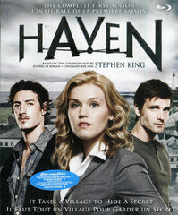 Haven - The Complete First Season (Boxset) (Bilingual)(Blu-ray)