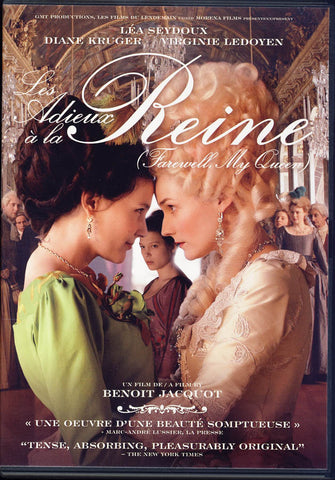 Les Adieux A La Reine (Farewell My Queen) DVD Movie