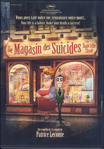 Le Magasin Des Suicides (The Suicide Shop) DVD Movie