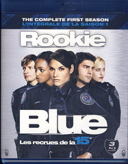 Rookie Blue - Season 1 (Les recrues de la 15e - Saison 1) (Boxset) (Blu-Ray)