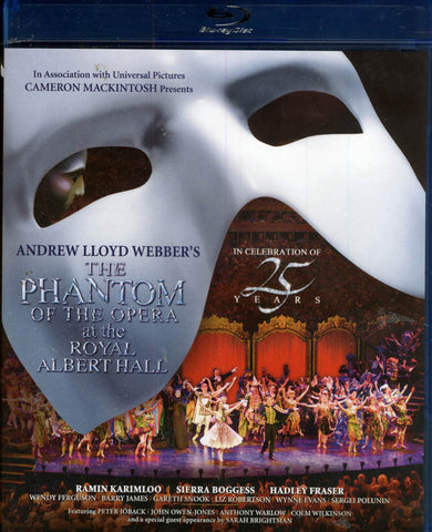 The Phantom of the Opera at the Royal Albert Hall (Blu-ray) BLU-RAY Movie