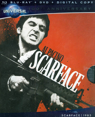Scarface (Blu-ray + DVD + Digital Copy) (Bilingual) (Blu-ray) BLU-RAY Movie