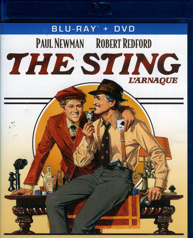 The Sting (L Arnaque) (Blu-ray+DVD+Digital Copy) (Bilingual) (Blu-ray) BLU-RAY Movie