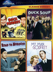 Buck Privates / Duck Soup / Road to Morocco / My Man Godfrey (Boxset)