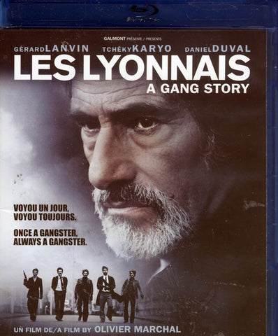 Les Lyonnais (A Gang Story) (bilingual)(Blu-ray) BLU-RAY Movie