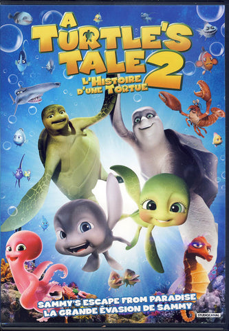 A Turtle's Tale 2 - Sammy's Escape From Paradise (Bilingual) DVD Movie