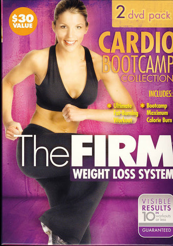 The Firm - Cardio Bootcamp Collection (Boxset) DVD Movie