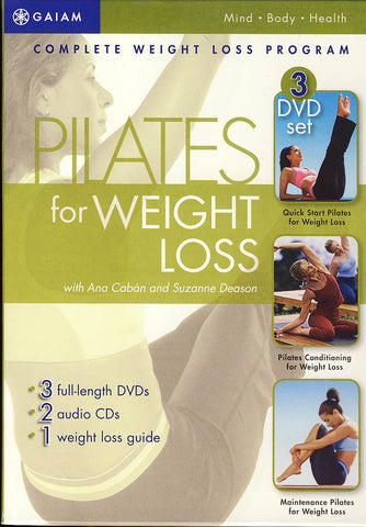 Pilates for Weight Loss Series (Boxset) DVD Movie