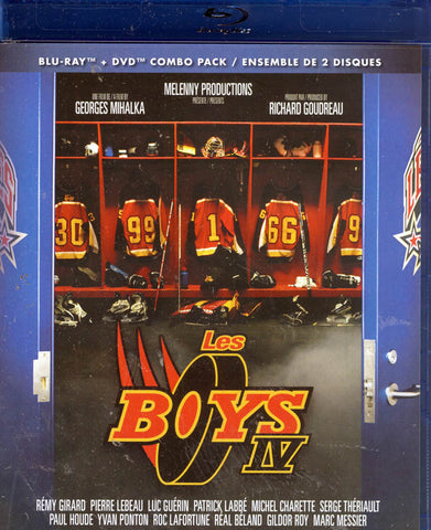 Les Boys IV (French Only) (Blu-ray + DVD) (Blu-ray) BLU-RAY Movie