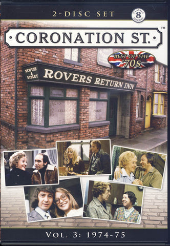 Coronation Street - The 70 s - Vol. 3 - 1974-1975 DVD Movie