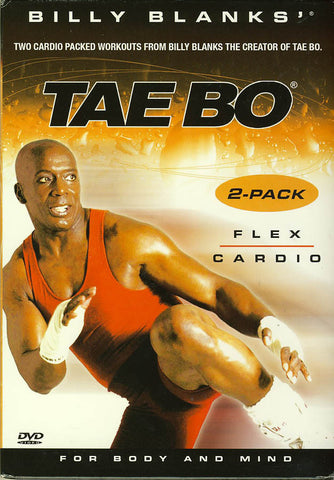 Billy Blanks' Tae Bo - Flex / Cardio (2-Pack) DVD Movie