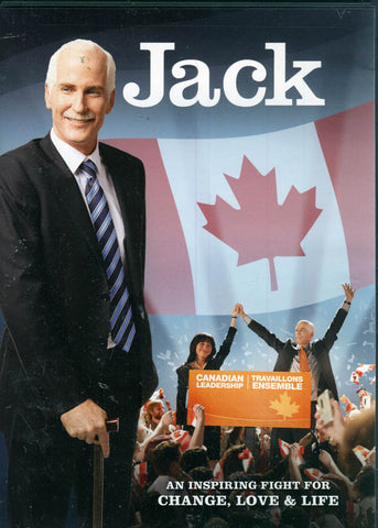 Jack - the Jack Layton Story DVD Movie