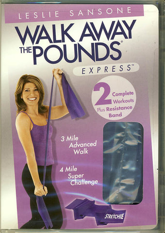 Leslie Sansone - Walk Away the Pounds - Express - Miles 3 And 4 with Stretchie DVD Movie