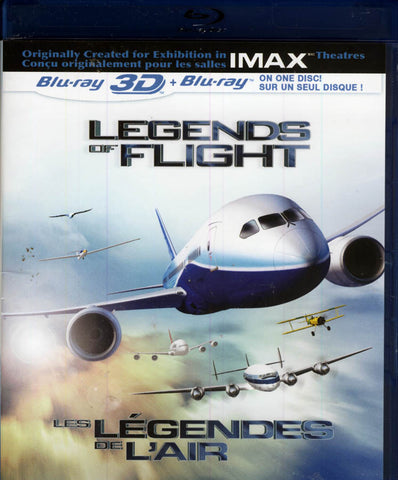Legends of Flight (IMAX) (Bilingual) (Blu-ray 3D + Blu-ray) (Blu-ray) BLU-RAY Movie