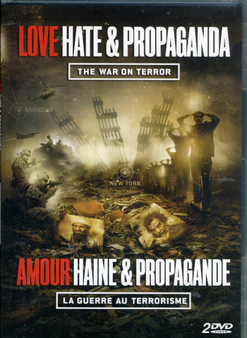 Love, Hate & Propaganda - War On Terror (Bilingual) DVD Movie