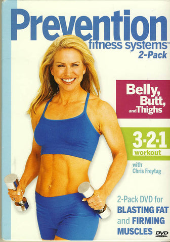 Prevention Fitness Systems - Belly Butt And Thighs / 3-2-1 Workout (2 Pack) DVD Movie
