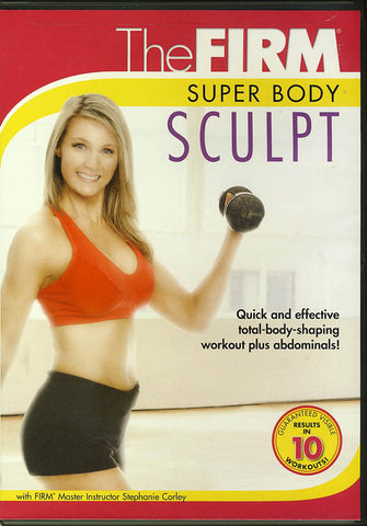 The Firm - Super Body Sculpt DVD Movie