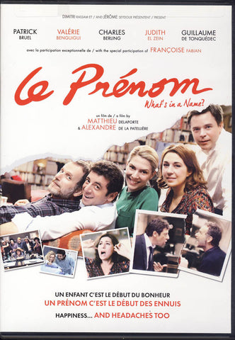Le Prenom (What's In A Name?) DVD Movie