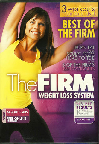 The Firm Weight Loss System - Best of the Firm - 3 Workouts DVD Movie