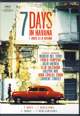 7 Days In Havana (Bilingual) DVD Movie