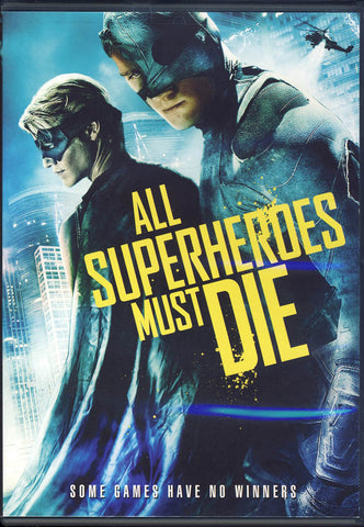 All Superheroes Must Die DVD Movie