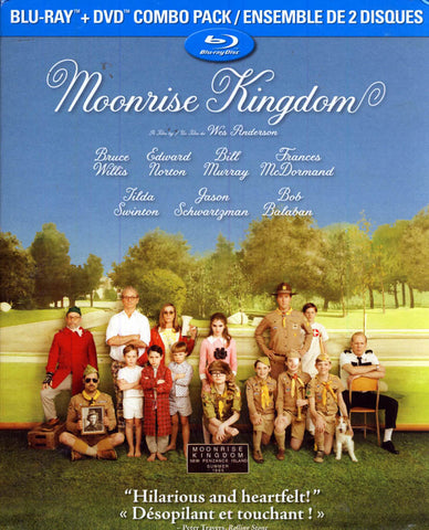 Moonrise Kingdom (Bilingual) (Blu-ray + DVD) (Blu-ray) BLU-RAY Movie