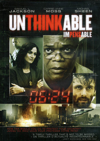 Unthinkable (E1)(Bilingual) DVD Movie
