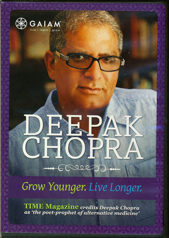 Deepak Chopra - Grow Younger Live Longer DVD Movie