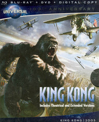 King Kong (Blu-ray + DVD) (Blu-ray)