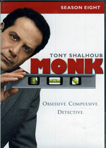 Monk - Season (8) Eight (Keep Case) (Boxset) DVD Movie