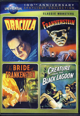 Dracula / Frankenstein/The Bride of Frankenstein/Creature from Black Lagoon