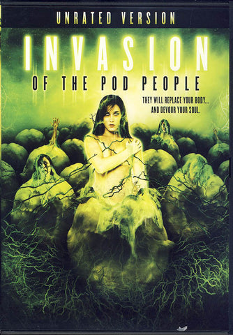 Invasion of The Pod People (Limit 1 copy) DVD Movie