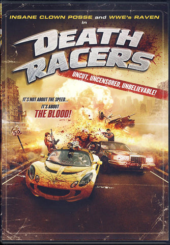 Death Racers DVD Movie