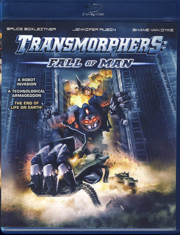 Transmorphers - Fall of Man (Blu-ray) BLU-RAY Movie