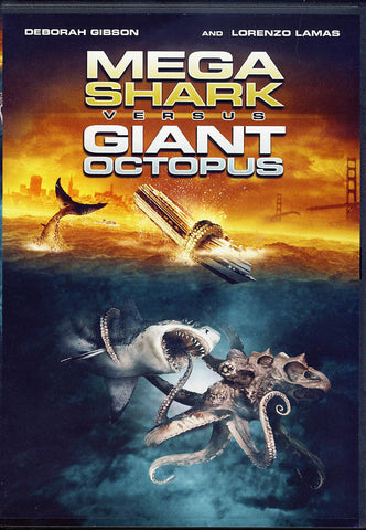 Mega Shark vs Giant Octopus DVD Movie