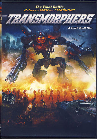 Transmorphers DVD Movie