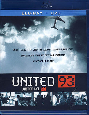 United 93 (Bilingual) (Blu-ray + DVD + Digital Copy) (Blu-ray) (Bilingual) BLU-RAY Movie