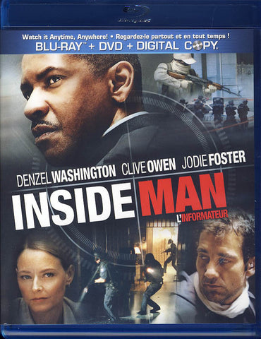 Inside Man (Bilingual) (Blu-ray + DVD + Digital Copy)(Blu-ray) BLU-RAY Movie