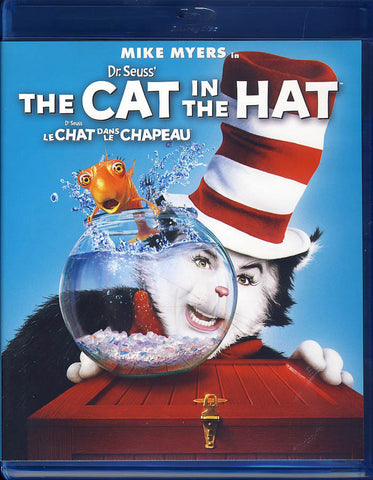Dr. Seuss' The Cat in the Hat (Bilingual) (Blu-ray) BLU-RAY Movie