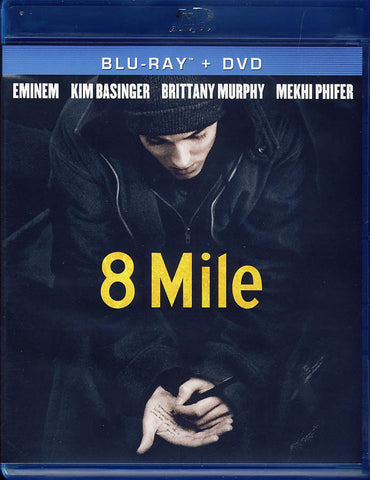 8 Mile (Blu-ray + DVD + Digital Copy) (Blu-ray) BLU-RAY Movie